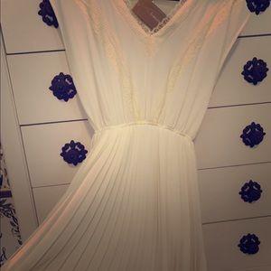 Cream/Ivory Lace dress- never worn!